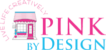 Pink by design logo